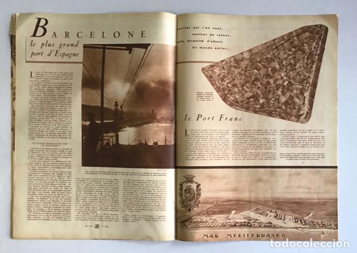 Coleccionismo de Revistas y Periódicos: VU. A LA DÉCOUVERTE DUN PAYS RESSUCITÉ. CATALOGNE. 9 anné, n.º 434. 8 julliet 1936. Guerra Civil - Foto 6 - 260808025