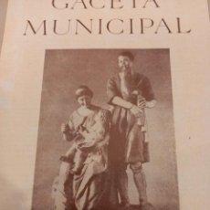 Coleccionismo de Revistas y Periódicos: BARCELONA. GACETA MUNICIPAL. 15 REVISTAS CORRELATIVAS (1 AL 15) 1953-1954. VER FOTOS. Lote 260859230