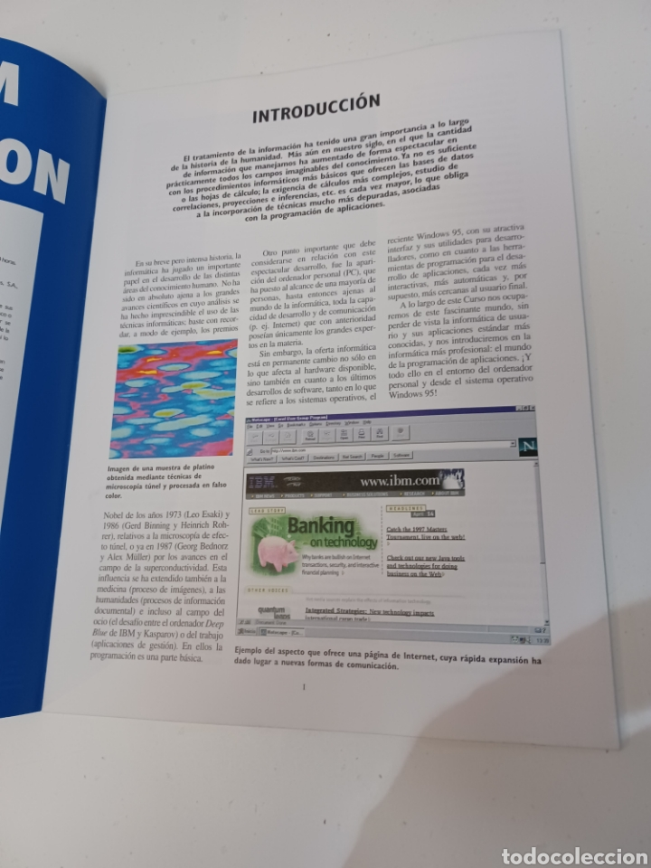 Coleccionismo de Revistas y Periódicos: Curso IBM de programación con programas Borland N° 1 CD Delphi Windows 95 PC informatica - Foto 3 - 261121200