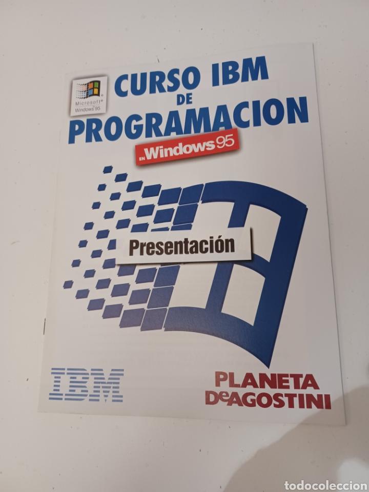 Coleccionismo de Revistas y Periódicos: Curso IBM de programación con programas Borland N° 1 CD Delphi Windows 95 PC informatica - Foto 5 - 261121200