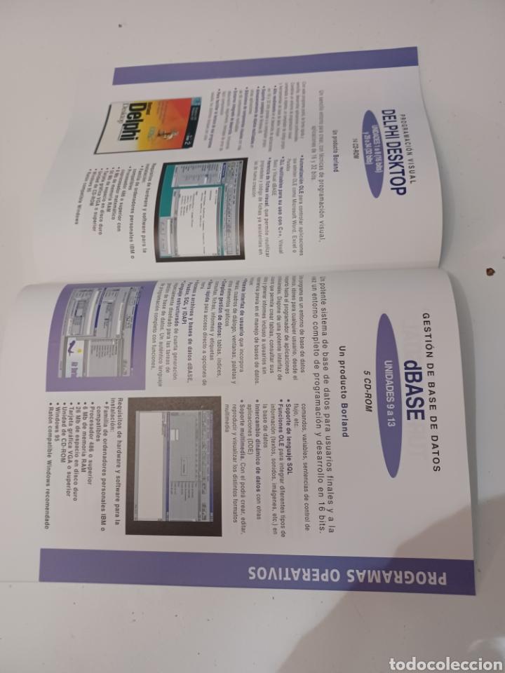 Coleccionismo de Revistas y Periódicos: Curso IBM de programación con programas Borland N° 1 CD Delphi Windows 95 PC informatica - Foto 6 - 261121200
