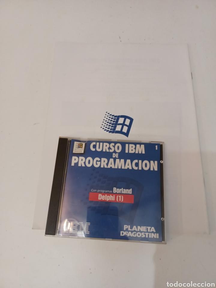 Coleccionismo de Revistas y Periódicos: Curso IBM de programación con programas Borland N° 1 CD Delphi Windows 95 PC informatica - Foto 7 - 261121200