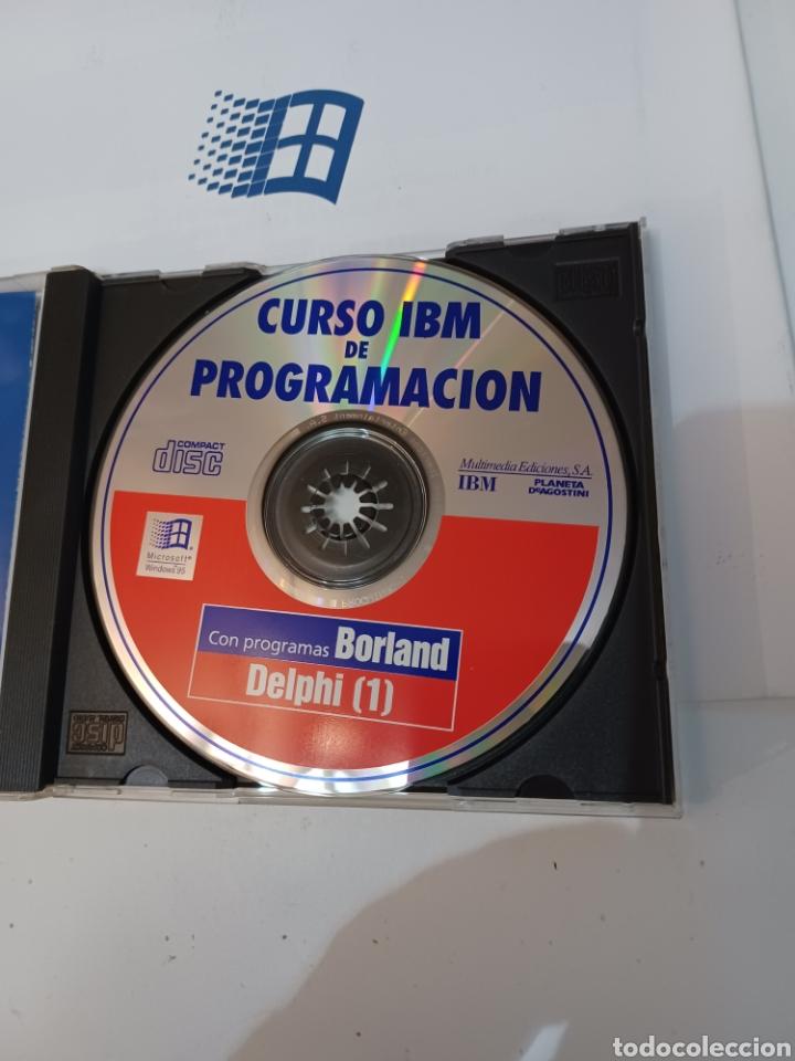 Coleccionismo de Revistas y Periódicos: Curso IBM de programación con programas Borland N° 1 CD Delphi Windows 95 PC informatica - Foto 8 - 261121200