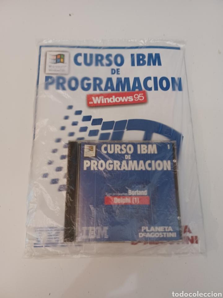 CURSO IBM DE PROGRAMACIÓN CON PROGRAMAS BORLAND N° 1 CD DELPHI WINDOWS 95 PC INFORMATICA (Coleccionismo - Revistas y Periódicos Modernos (a partir de 1.940) - Otros)