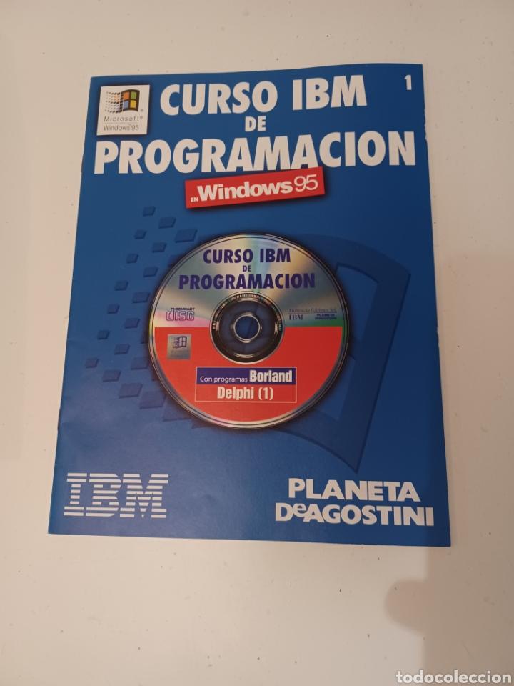 Coleccionismo de Revistas y Periódicos: Curso IBM de programación con programas Borland N° 1 CD Delphi Windows 95 PC informatica - Foto 2 - 261121200