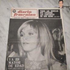 Coleccionismo de Revistas y Periódicos: MARISOL (PEPA FLORES) - DIARIO FEMENINO NÚMERO 86 - (5 DE FEBRERO DE 1969) - REVISTA Nº 86 (AÑOS 60). Lote 261271550