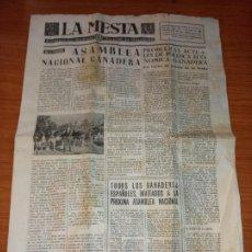 Coleccionismo de Revistas y Periódicos: LA MESTA SEMANARIO DEL SINDICATO VERTICAL DE GANADERIA DE 01-06-1963. Lote 261624205