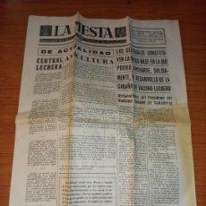 Coleccionismo de Revistas y Periódicos: LA MESTA SEMANARIO DEL SINDICATO VERTICAL DE GANADERIA DE 07-07-1962. Lote 261624460