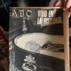 Coleccionismo de Revistas y Periódicos: ABC MUERTE FRANCO (21 NOVIEMBRE 1975). Lote 261784420