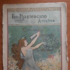 Coleccionismo de Revistas y Periódicos: 1897 LA ILUSTRACIÓN ARTÍSTICA : RINCONETE Y CORTADILLO - CERVANTES. Lote 261852065