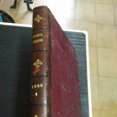 Coleccionismo de Revistas y Periódicos: REVISTA ENCUADERNADA MUNDO NUEVO 1926. PORTADAS MODERNISTAS. Lote 261854380