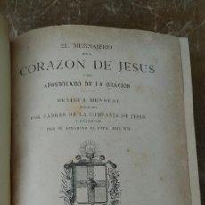 Coleccionismo de Revistas y Periódicos: RELIGION...ANTIGUA REVISTA EL MENSAJERO.1899, PYMY 108. Lote 261859435