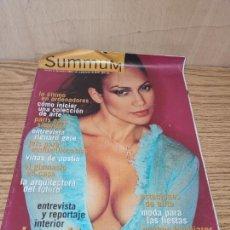 Coleccionismo de Revistas y Periódicos: SUMMUM: JENNIFER LÓPEZ. Lote 261874365