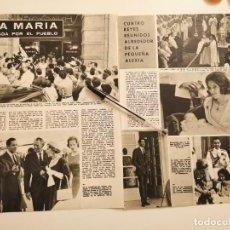 Coleccionismo de Revistas y Periódicos: REINA ANA MARIA DE GRECIA REVERSO ANUNCIO PERSIL RECORTE REVISTA 1965. Lote 261875155