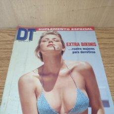 Coleccionismo de Revistas y Periódicos: SUPLEMENTO DT: BIKINIS. Lote 261875420