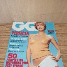 Coleccionismo de Revistas y Periódicos: GQ: CHARLIZE THERON. Lote 261875505