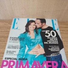 Coleccionismo de Revistas y Periódicos: ELLE: EUGENIA SILVA, PILAR LÓPEZ DE AYALA. Lote 261875610