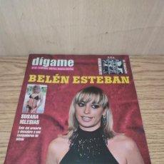 Coleccionismo de Revistas y Periódicos: DÍGAME: BELÉN ESTEBAN PUTA, SUSANA IGLESIAS,. Lote 261876880