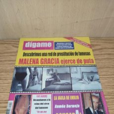 Coleccionismo de Revistas y Periódicos: DÍGAME: MALENA GRACIA, LOLY ÁLVAREZ. Lote 261877025