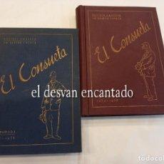 Coleccionismo de Revistas y Periódicos: EL CONSUETA.. REVISTA AMATEUR DE TEATRE CATALÀ. 2 TOMOS ENCUADERNADOS. 1934-35 Y 1935-36. REPÚBLICA. Lote 261921135