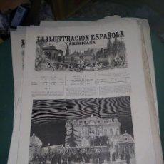 Coleccionismo de Revistas y Periódicos: LA ILUSTRACION ESPAÑOLA Y AMERICANA MADRID. Lote 262040460
