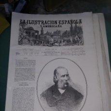 Coleccionismo de Revistas y Periódicos: LA ILUSTRACION ESPAÑOLA Y AMERICANA FRANCISCO CARLOS JOSE. Lote 262043820