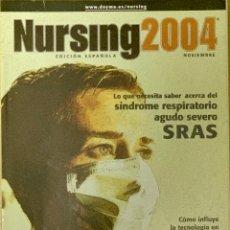 Coleccionismo de Revistas y Periódicos: REVISTA NURSING. Nº 9. VOLUMEN 22. NOVIEMBRE 2004.. Lote 262070825