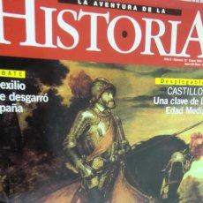 Collezionismo di Riviste e Giornali: REVISTA LA AVENTURA DE LA HISTORIA N.15 CARLOS V EL DUEÑO DEL MUNDO. CASTILLOS. Lote 262289060