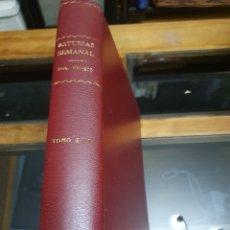 Coleccionismo de Revistas y Periódicos: REVISTA ASTURIAS SEMANAL NÚMEROS 191 AL 205. Lote 262316060