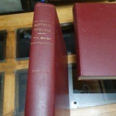 Coleccionismo de Revistas y Periódicos: REVISTA ASTURIAS SEMANAL NÚMEROS 206 AL 220. Lote 262316150
