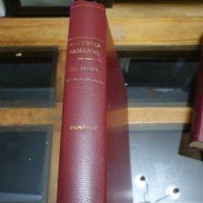Coleccionismo de Revistas y Periódicos: REVISTA ASTURIAS SEMANAL NÚMEROS 221 AL 234. Lote 262316295