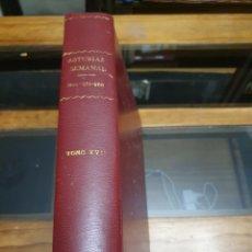 Coleccionismo de Revistas y Periódicos: REVISTA ASTURIAS SEMANAL NÚMEROS 251 AL 266. Lote 262316370