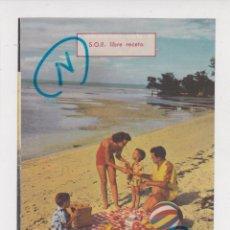 Coleccionismo de Revistas y Periódicos: PUBLICIDAD 1961. ANUNCIO MEDICAMENTOS SULVITAN-NEOMICIN + ZIMAGAMA. LABORATORIOS ALMIRALL (REVERSO). Lote 262322785