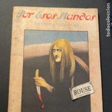 Coleccionismo de Revistas y Periódicos: REVISTA SEMANAL POR ESOS MUNDOS N.8 MADRID 21 FEBRERO 1926 ILUSTRADA 22,5X15 CM.. Lote 262364480