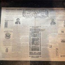 Coleccionismo de Revistas y Periódicos: FARMACIA - ANTIGUA REVISTA /PUBICIDAD ZARZAPARRILLA CIRCULAR DE LA DE BRISTOL REDACTADA EN 1860 REVI. Lote 262376000