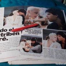 Coleccionismo de Revistas y Periódicos: RECORTE : BRIGITTE NIELSEN Y MARK GASTINEAU. SEMANA, JULIO 1988(#). Lote 262515035