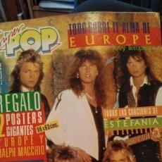 Coleccionismo de Revistas y Periódicos: REVISTA SUPER POP 231 CC CATCH, MECANO, BRUCE WILLIS, DURAN DURAN, CAMUFLAJE SERIE TV, MECANO. Lote 262535355