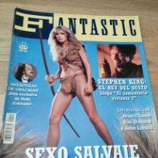 Coleccionismo de Revistas y Periódicos: REVISTA DE CINE FANTASTIC MAGAZINE 15 JEAN-CLAUDE VAN DAMME MADONNA IT STEPHEN KING. Lote 262560500