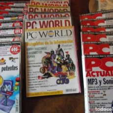 Coleccionismo de Revistas y Periódicos: LOTE CON 20 TOMOS PC WORLD Y PC ACTUAL. Lote 262564490