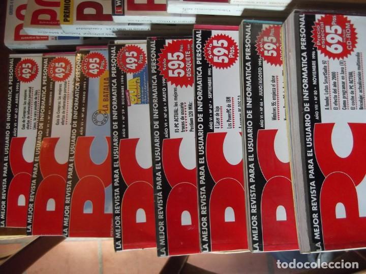 Coleccionismo de Revistas y Periódicos: Lote con 20 tomos PC WORLD Y PC ACTUAL - Foto 2 - 262564490