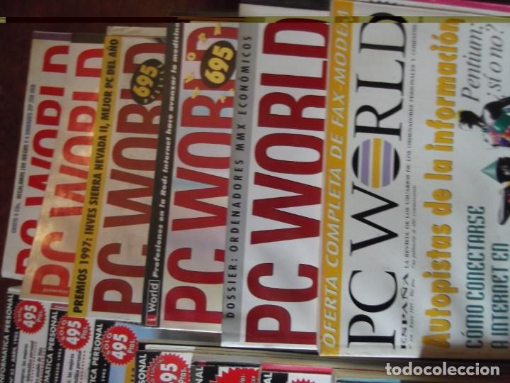 Coleccionismo de Revistas y Periódicos: Lote con 20 tomos PC WORLD Y PC ACTUAL - Foto 3 - 262564490