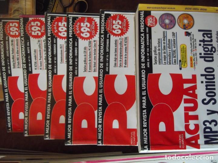 Coleccionismo de Revistas y Periódicos: Lote con 20 tomos PC WORLD Y PC ACTUAL - Foto 4 - 262564490
