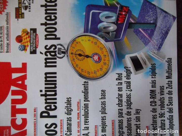 Coleccionismo de Revistas y Periódicos: Lote con 20 tomos PC WORLD Y PC ACTUAL - Foto 5 - 262564490