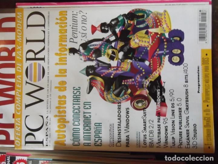 Coleccionismo de Revistas y Periódicos: Lote con 20 tomos PC WORLD Y PC ACTUAL - Foto 6 - 262564490