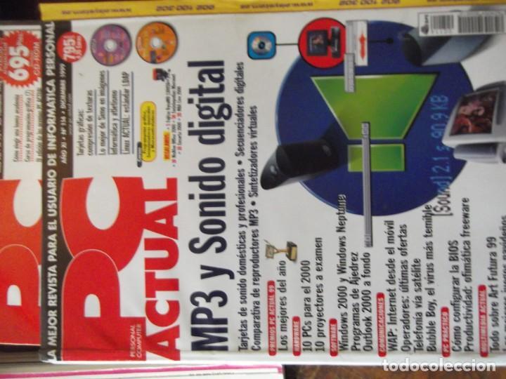 Coleccionismo de Revistas y Periódicos: Lote con 20 tomos PC WORLD Y PC ACTUAL - Foto 7 - 262564490
