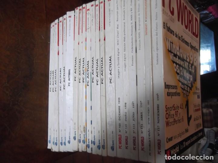 Coleccionismo de Revistas y Periódicos: Lote con 20 tomos PC WORLD Y PC ACTUAL - Foto 8 - 262564490