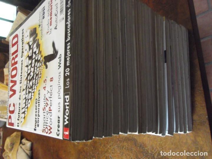 Coleccionismo de Revistas y Periódicos: Lote con 20 tomos PC WORLD Y PC ACTUAL - Foto 9 - 262564490