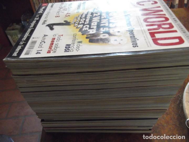Coleccionismo de Revistas y Periódicos: Lote con 20 tomos PC WORLD Y PC ACTUAL - Foto 10 - 262564490