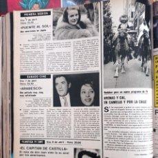 Coleccionismo de Revistas y Periódicos: ARENAS Y CAL CARROL BAKER GREGORY PECK VIVECA LINDFORDS. Lote 262592005