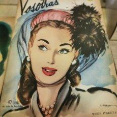 Coleccionismo de Revistas y Periódicos: REVISTA VOSOTRAS BUENOS AIRES 8 DE AGOSTO DE 1947 Nº 619. Lote 262612725